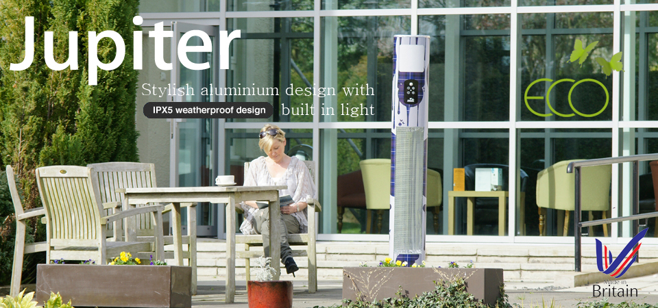 Jupiter Patio heater banner