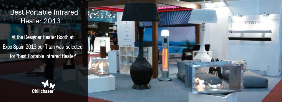 Best Designer Patio Heater Spain 2013
