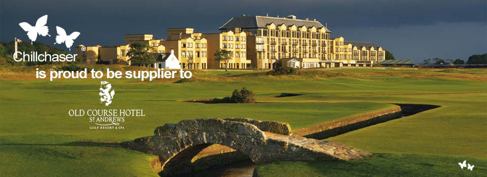 Chillchaser® outdoor heaters in The Old Course Hotel