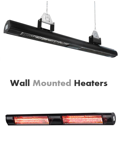 Shadow Hanging Low Glare Heaters 2800W and 2000W